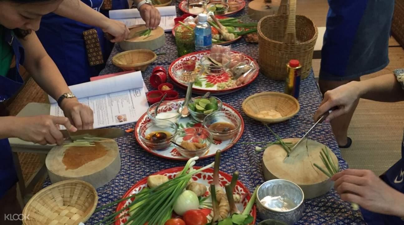 曼谷烹饪课