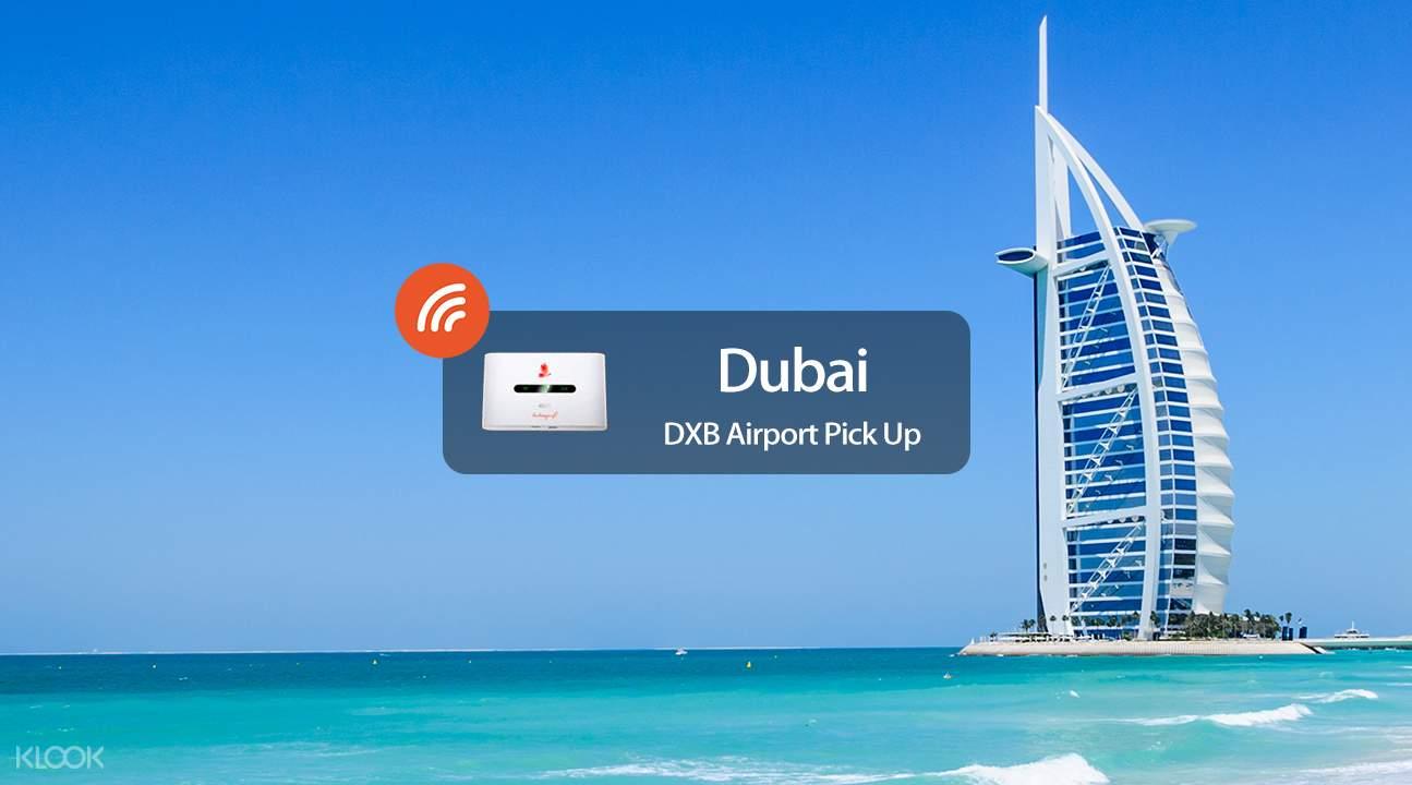 4G Portable WiFi Rental (DXB Airport Pickup) for Dubai - Klook