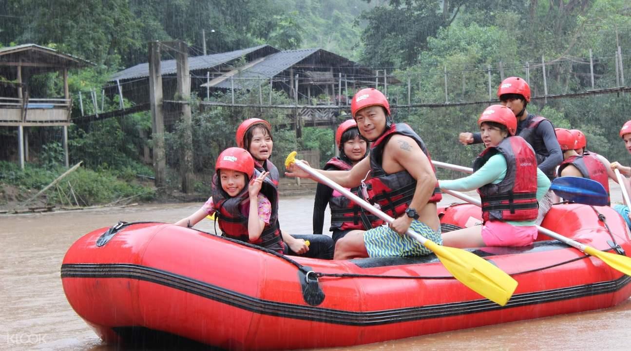 white water rafting mae tang river, chiang mai white water rafting