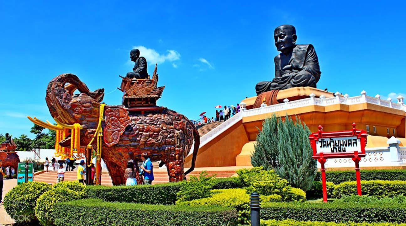 Hua Hin Highlights & Monsoon Valley Vineyards Tour,
