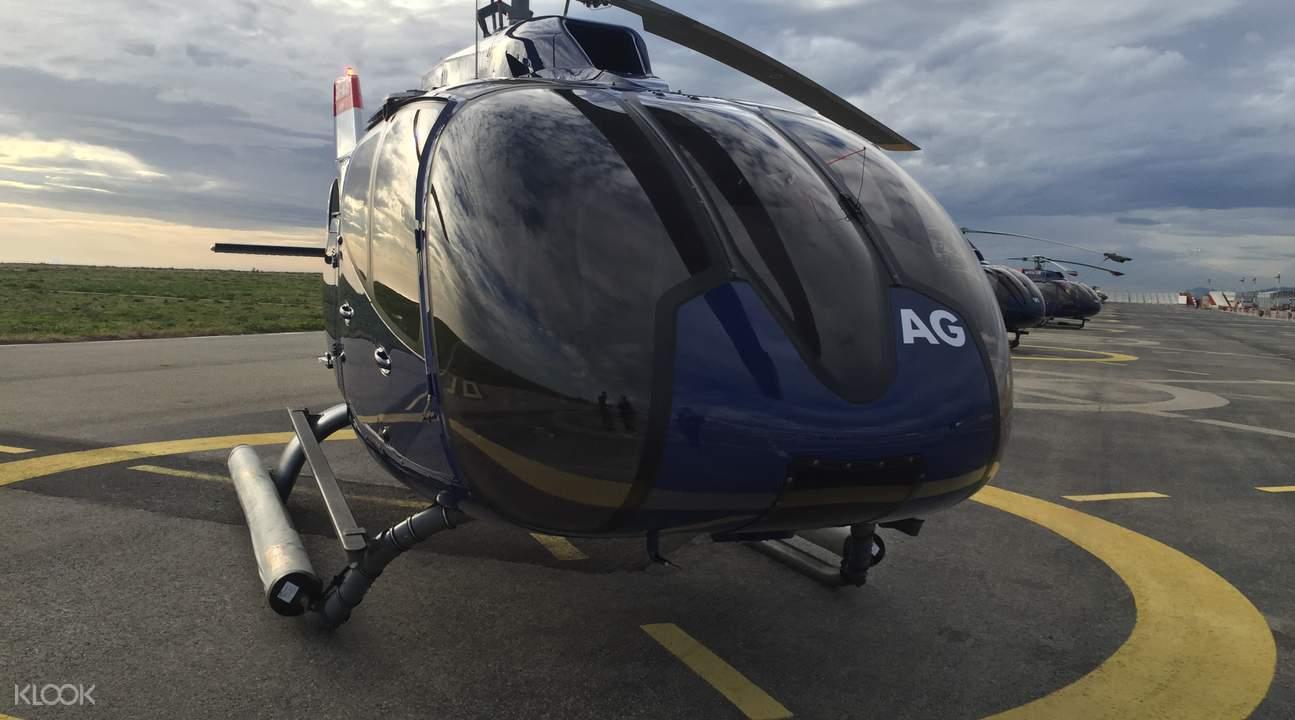 Nice Monaco Helicopter Flight