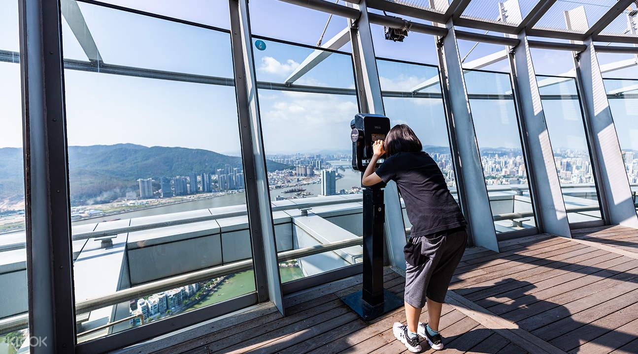 澳門旅遊觀光塔風景