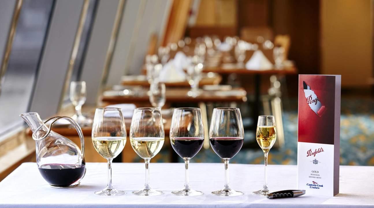 雪梨港金色奔富葡萄酒晚餐巡航