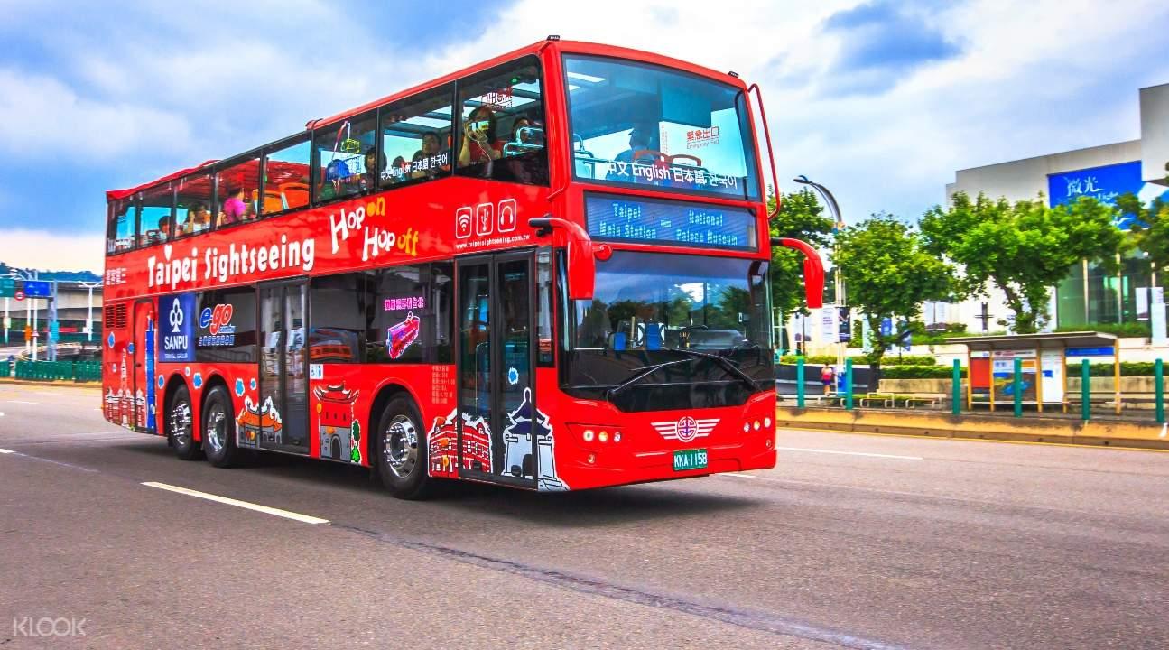 Taipei's double-decker sightseeing bus