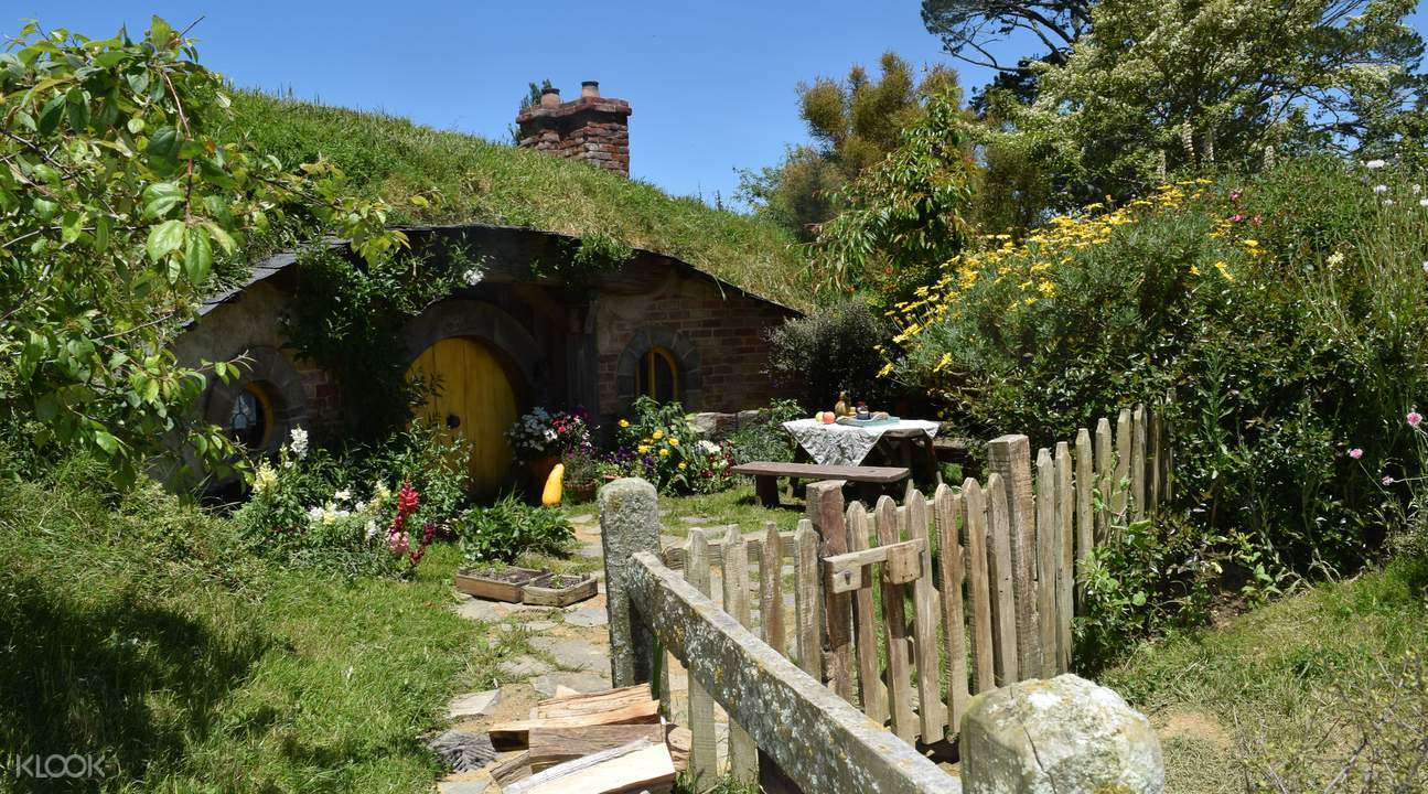 Bilbo's house in the Shire