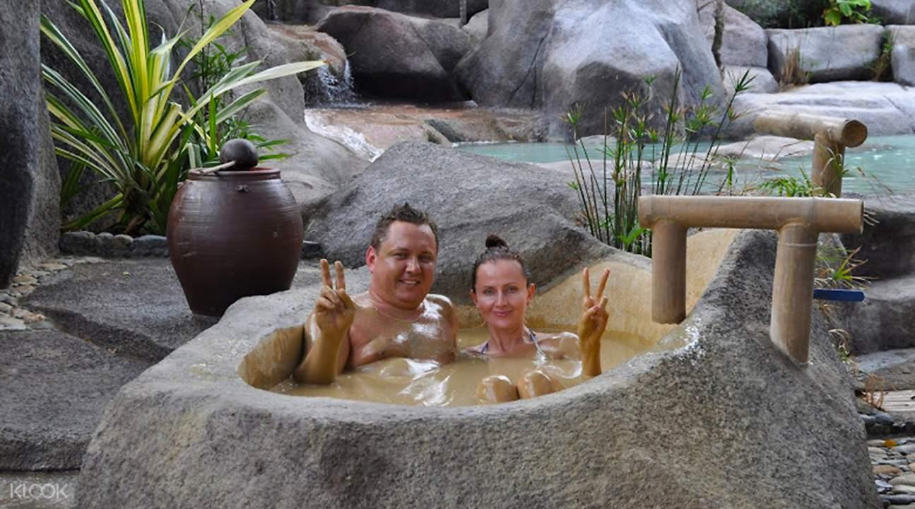 mud bath in i-resort