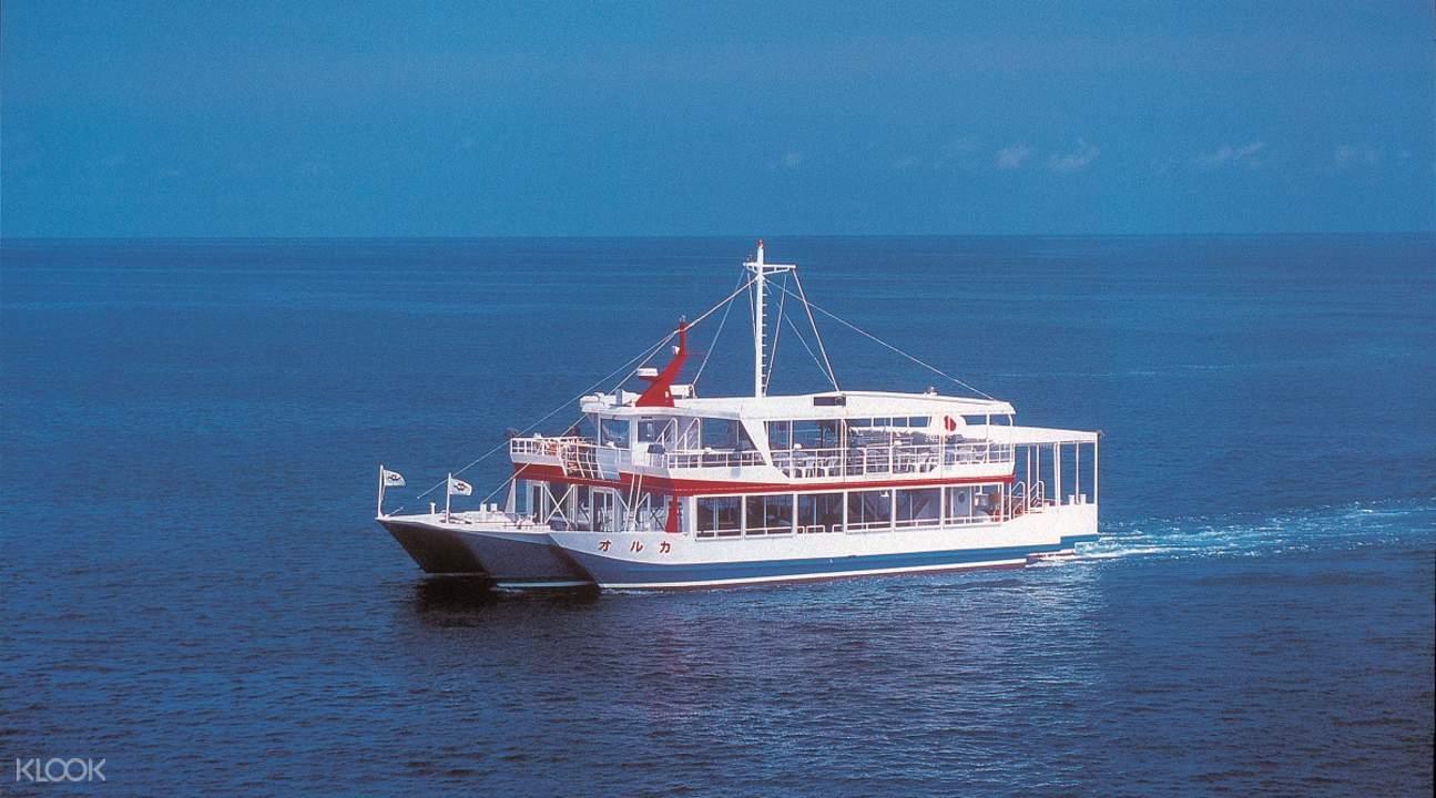 沖繩ORCA水中觀光船