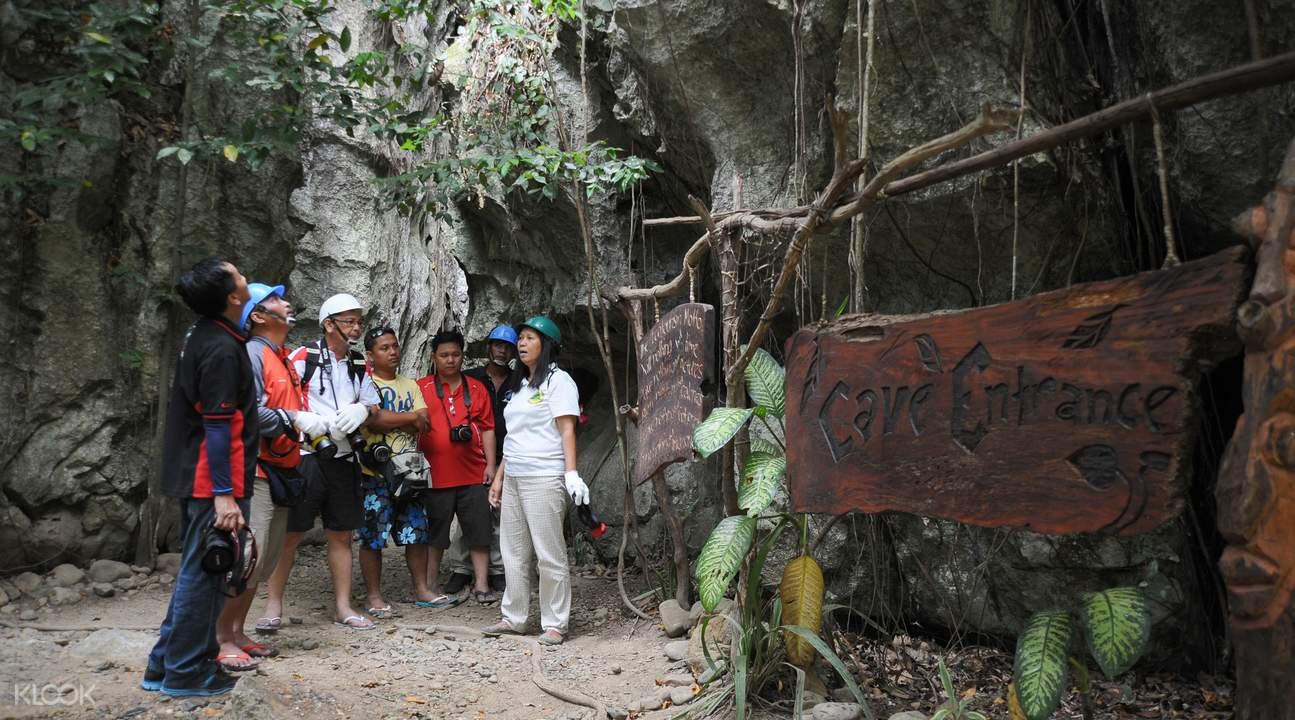 普林塞萨港Ugong岩洞穴探险