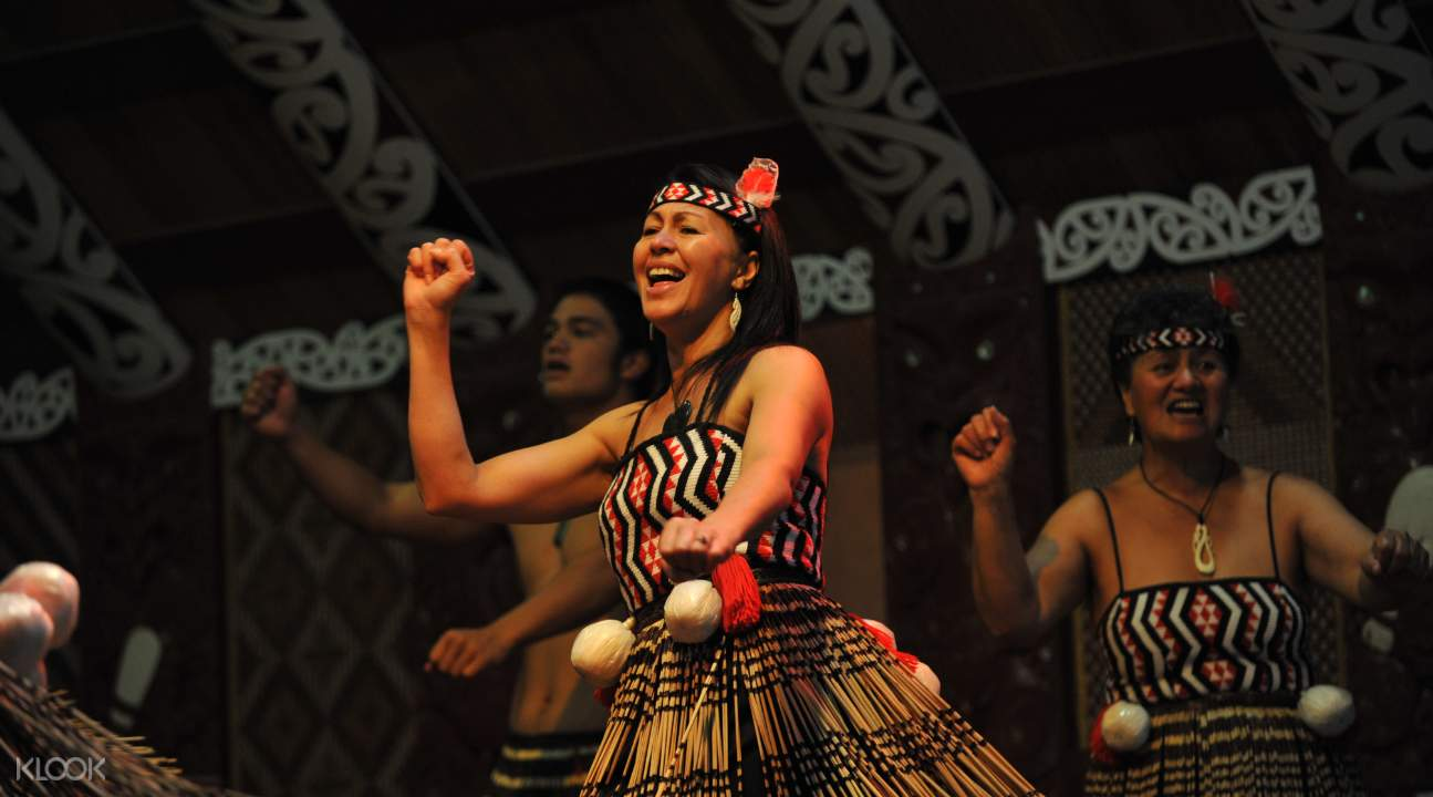 紐西蘭蒂普亞毛利文化晚會體驗