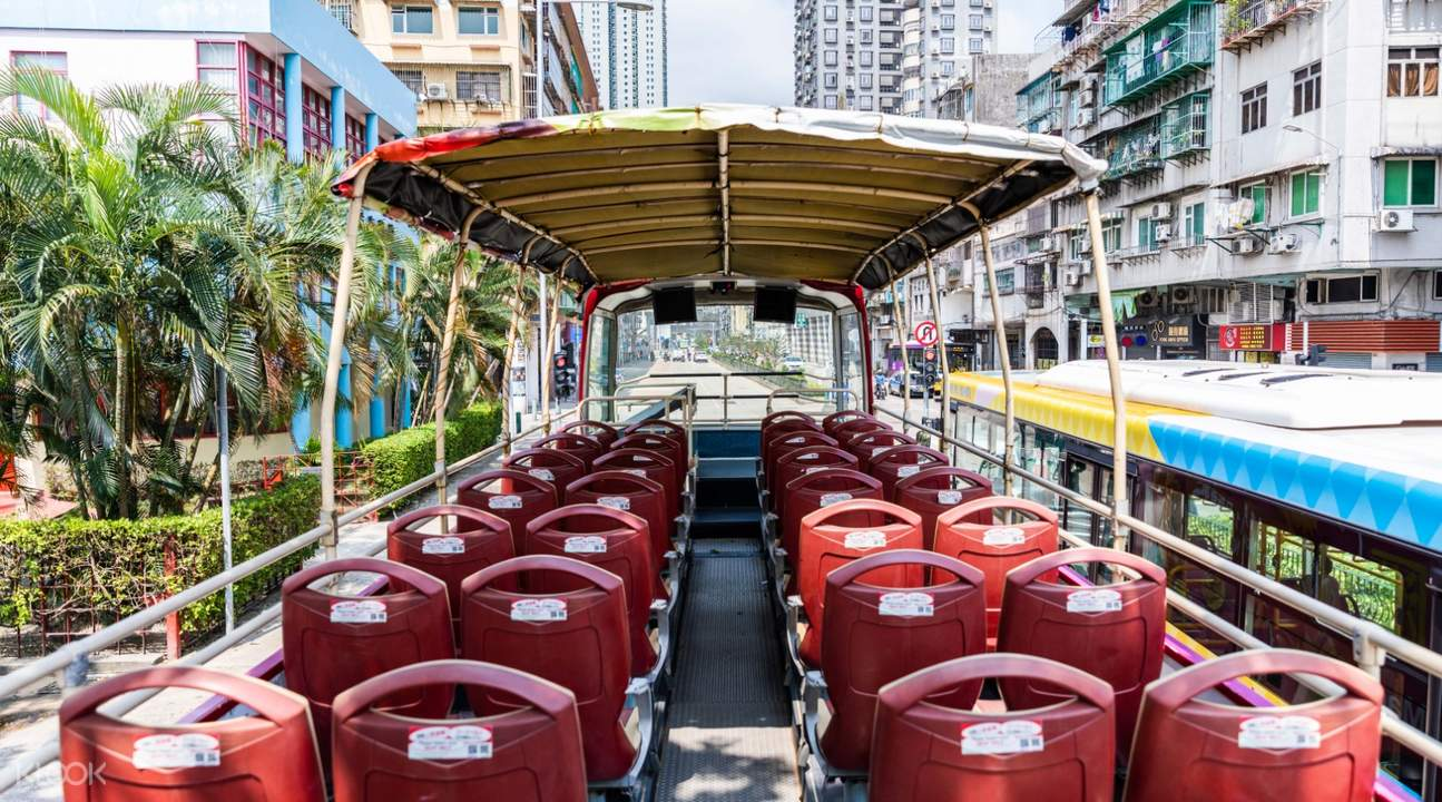 macau open top bus tour