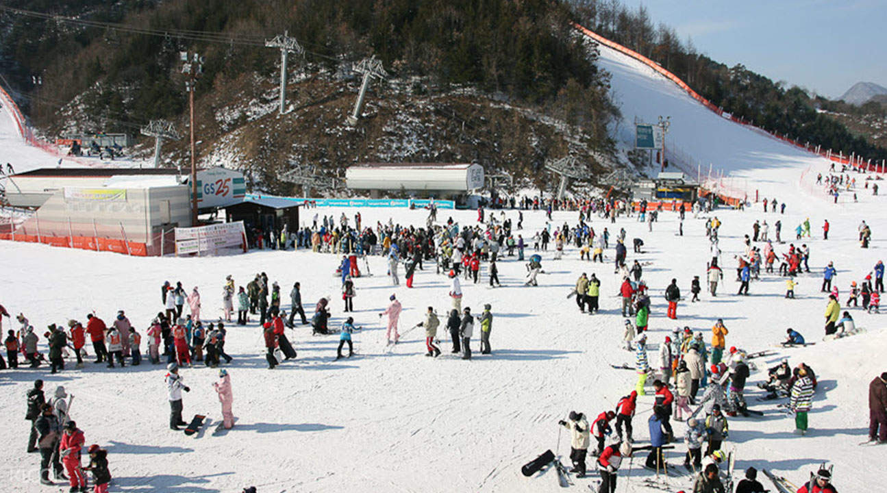 伊利希安江村滑雪場