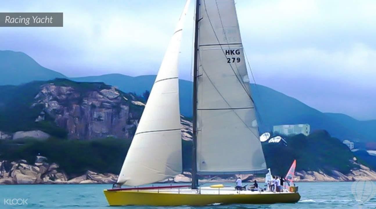 hong kong yacht boat