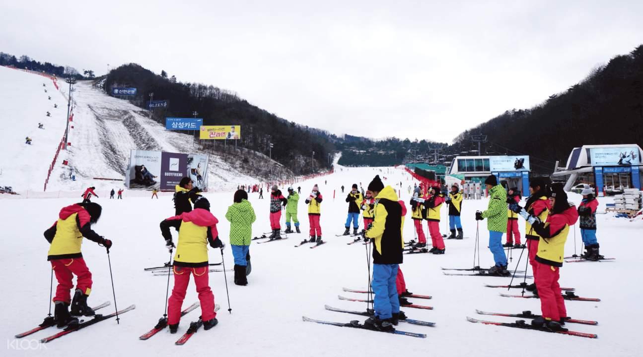 首爾滑雪一日團