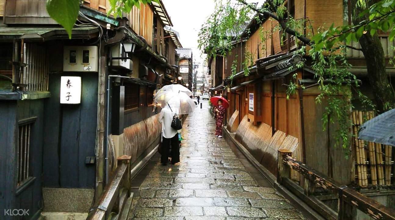 京都東山人力車