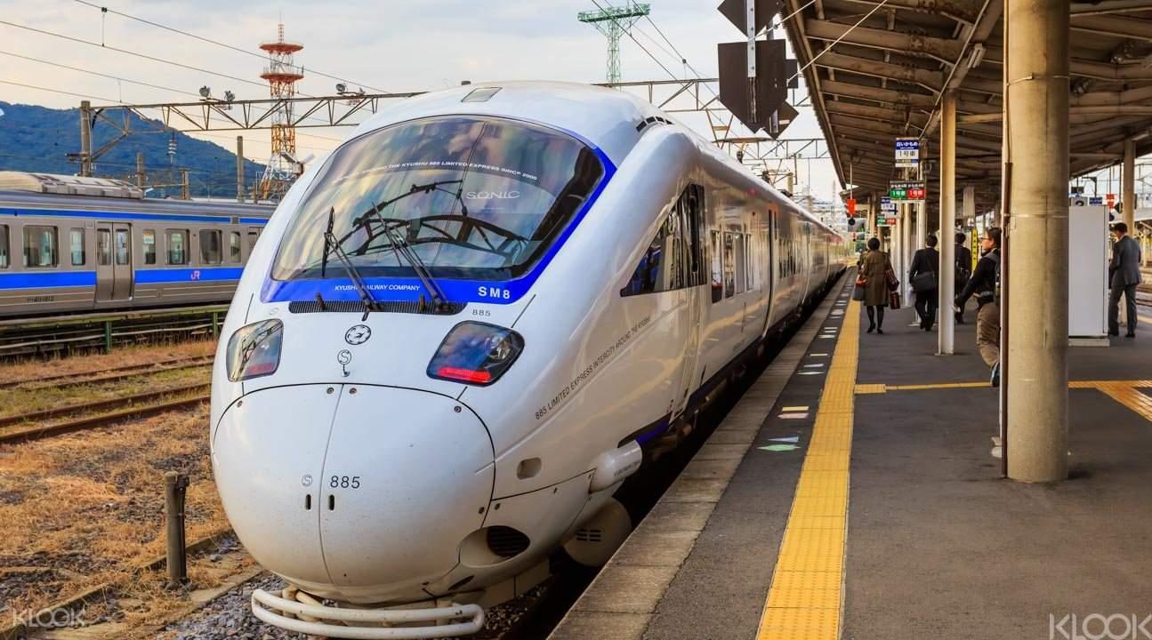 Fukuoka to Nagasaki Shinkansen train