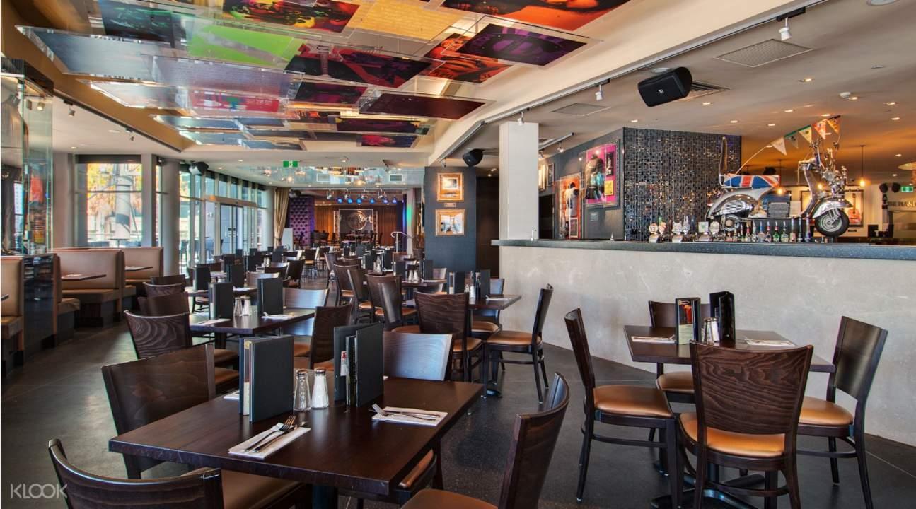 雪梨硬石搖滾餐廳