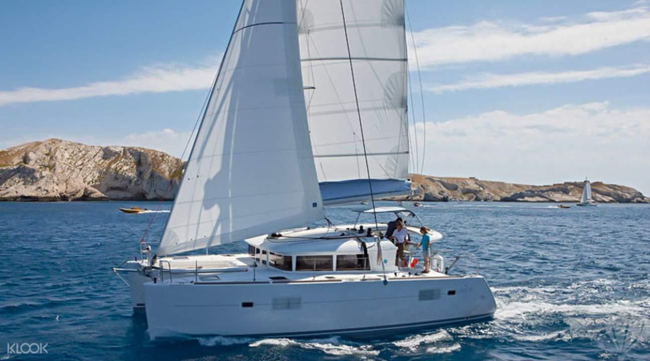 中型私人遊艇活動