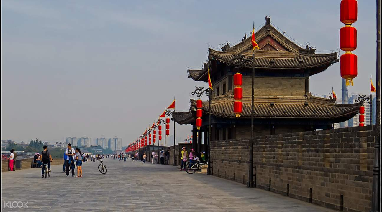 Old City Wall of Xi'an Biking Tour