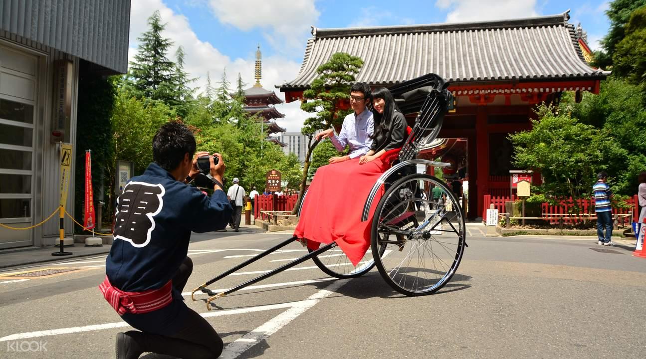 Tokyo rickshaw ride