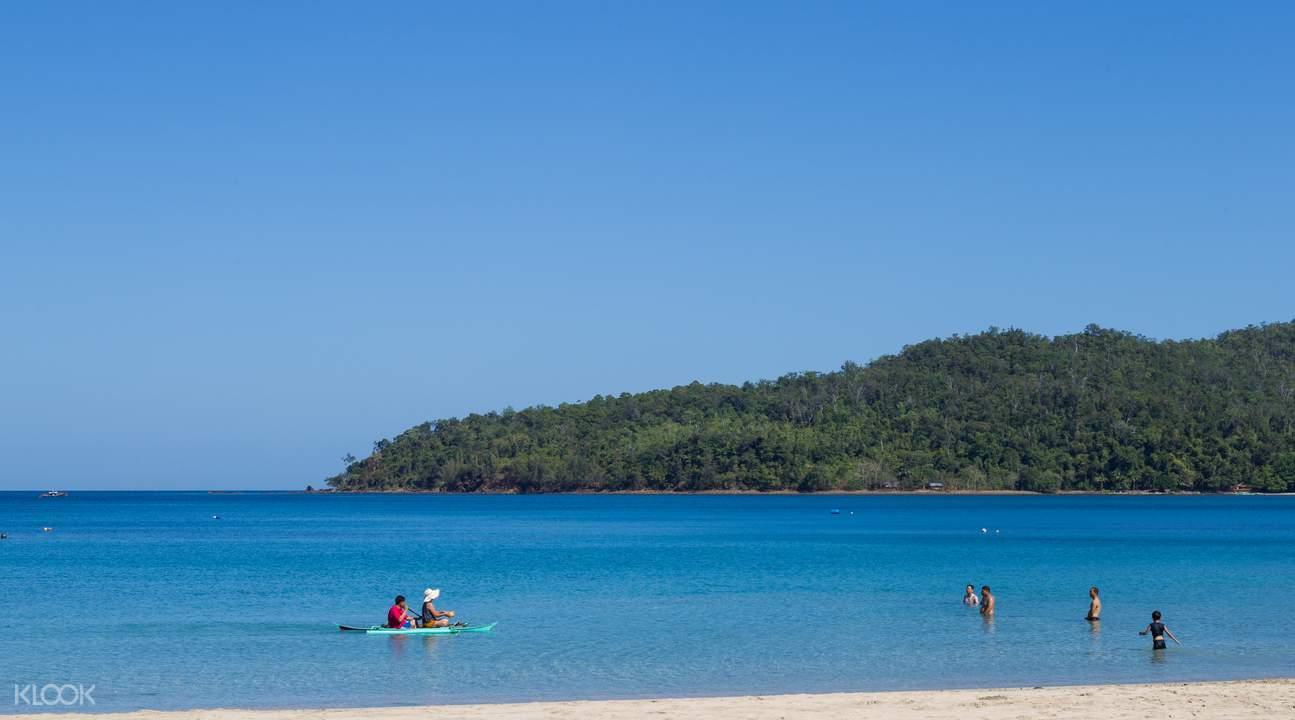 puerto princesa beach