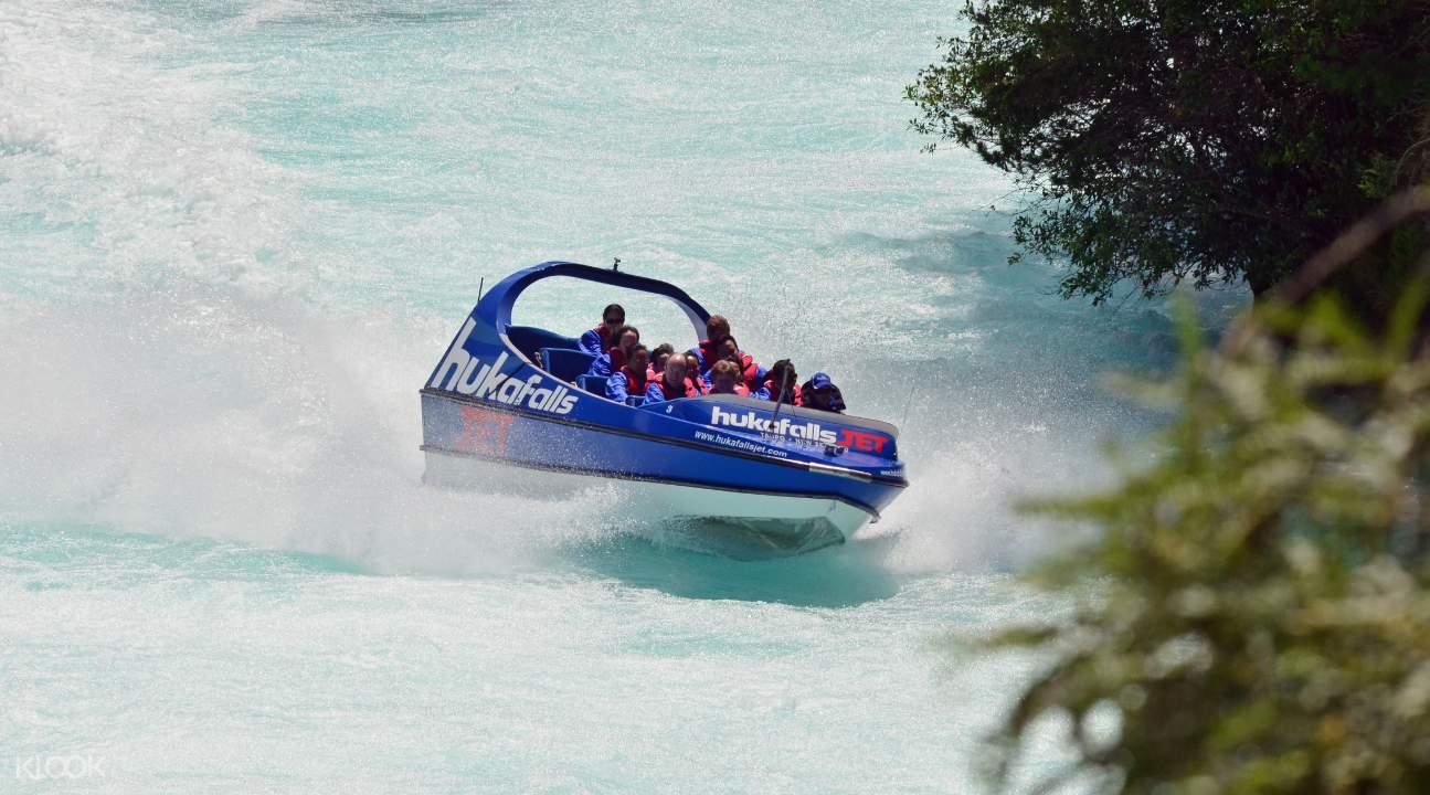 Huka Falls Jet Ride