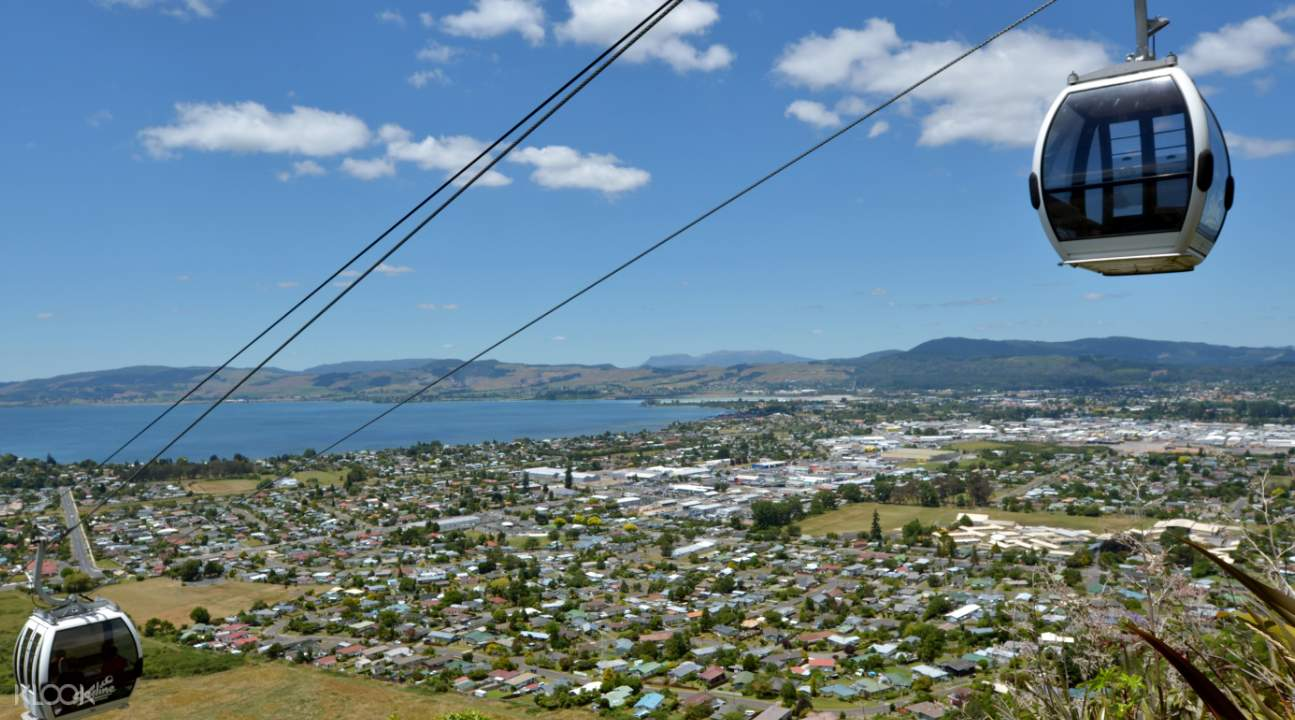 View from Rotorua Skyline Gondola