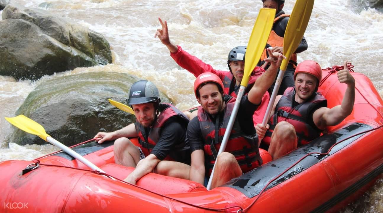 white water rafting chiang mae, mae tang river activities