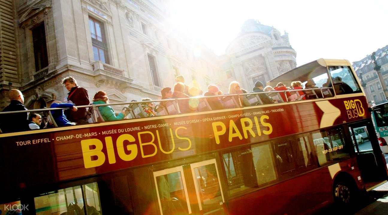Big Bus Tour Paris