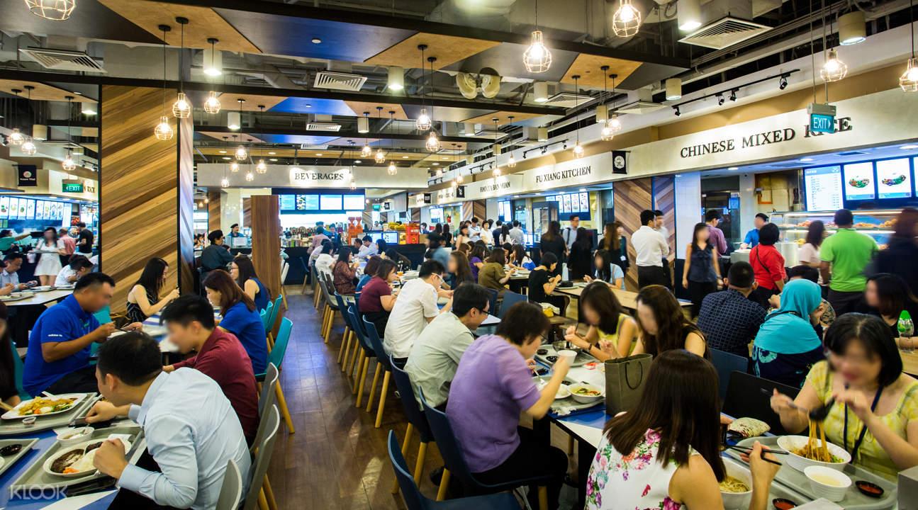 Food Junction interior