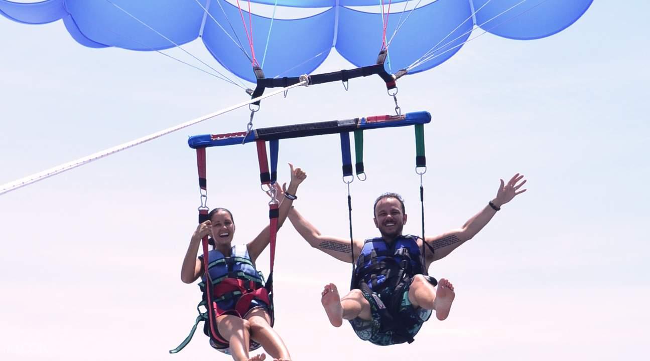 拖拽伞滑翔长滩岛