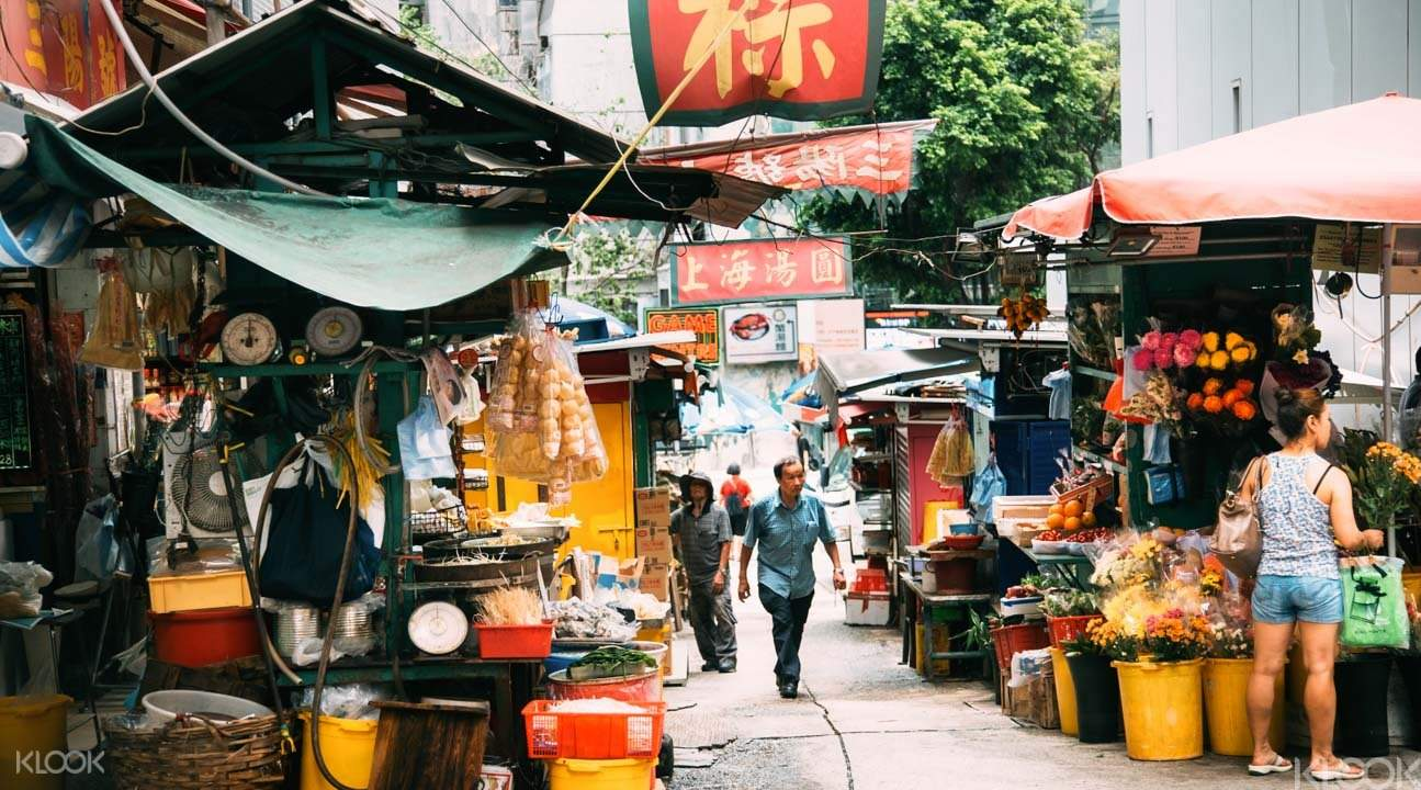 Local Hong Kong market
