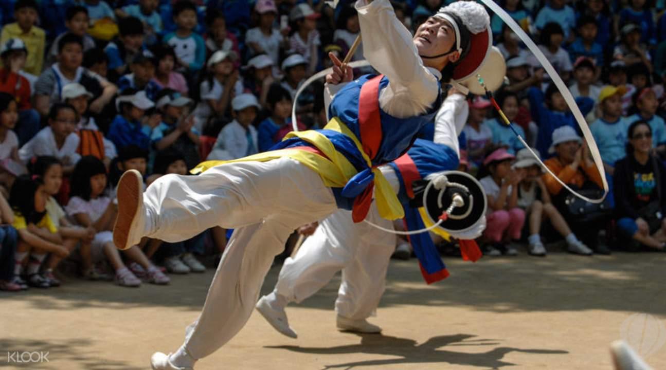 Korean Folk Performance
