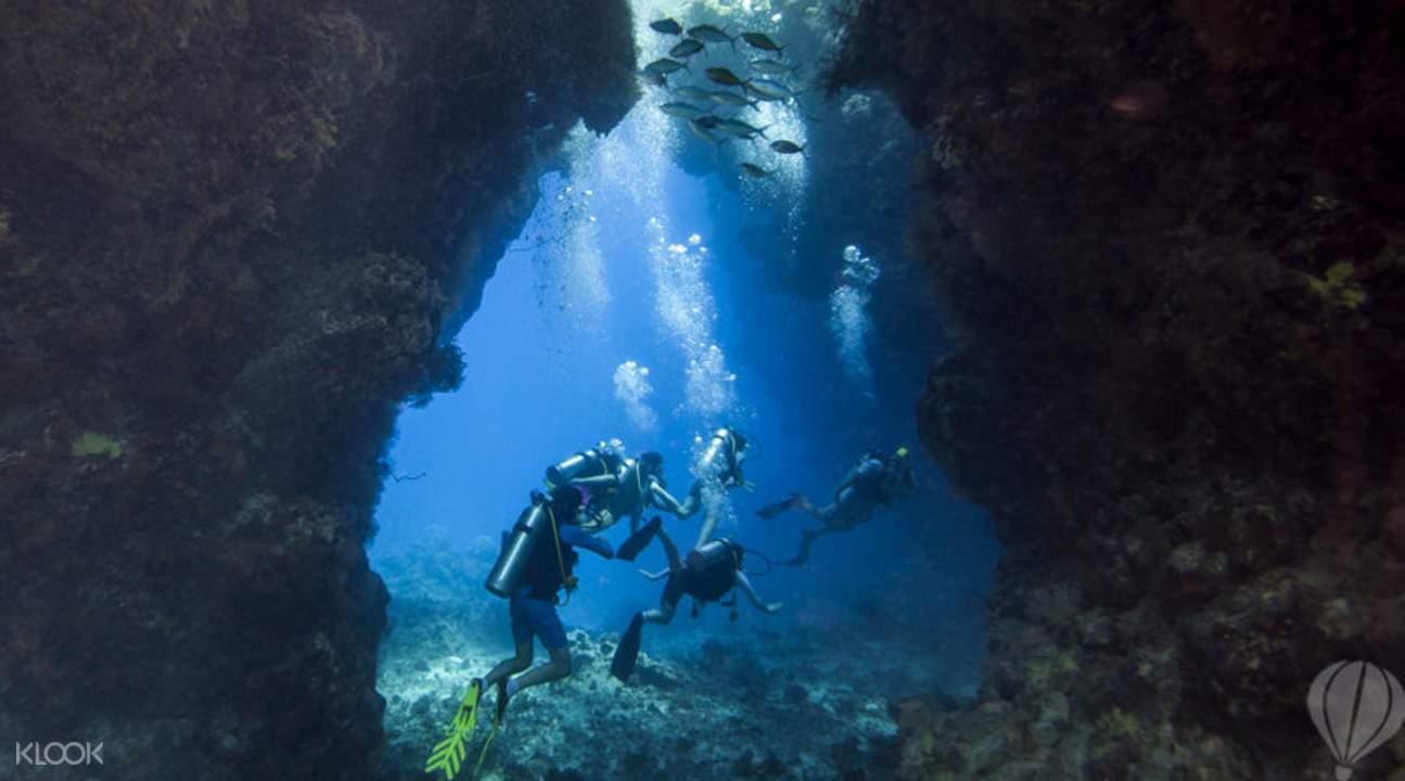 普吉岛花岛海域潜水