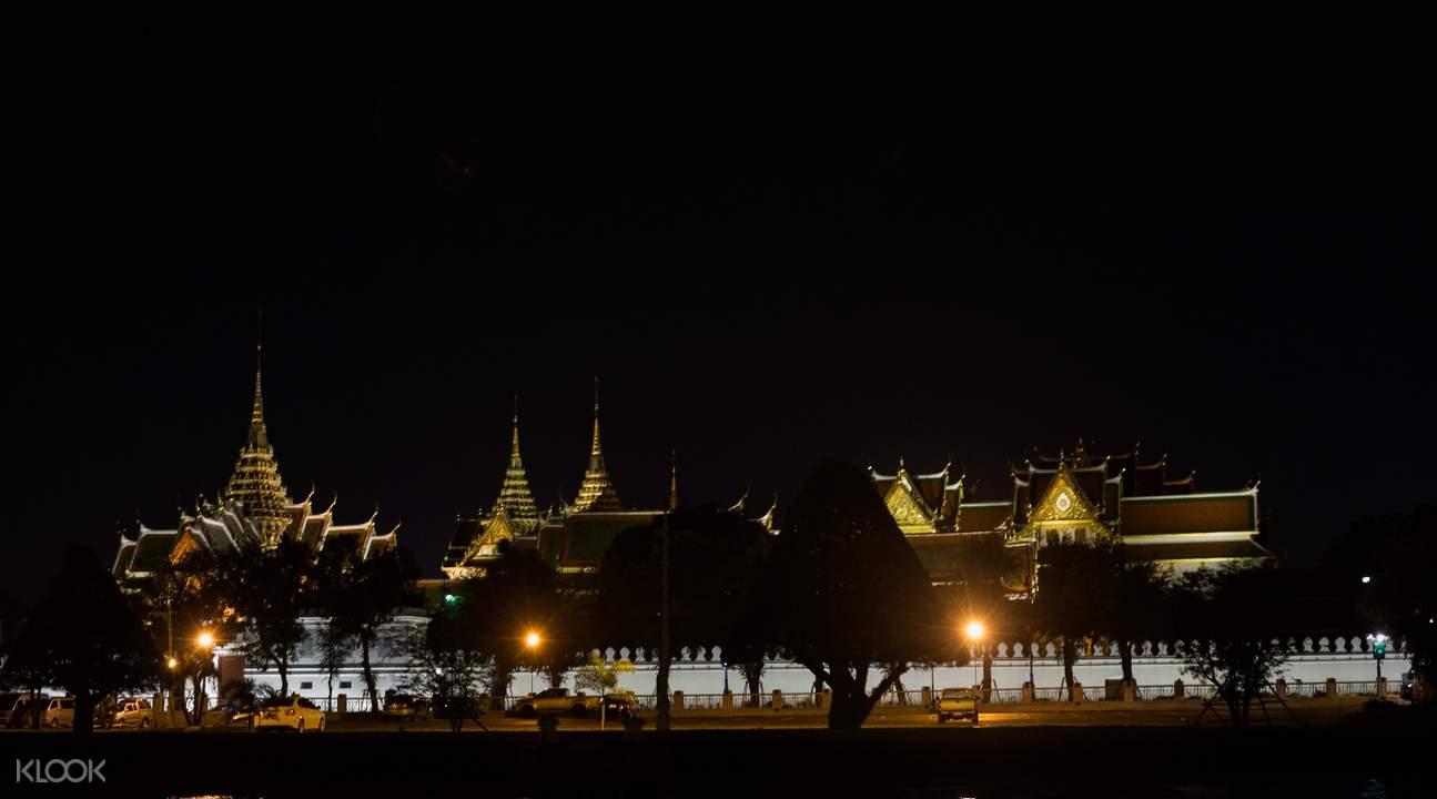 Chao Phraya River at night