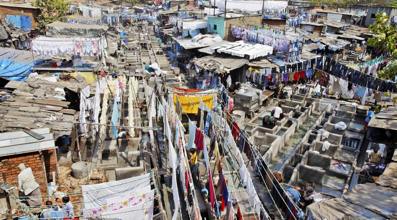 孟买千人洗衣场