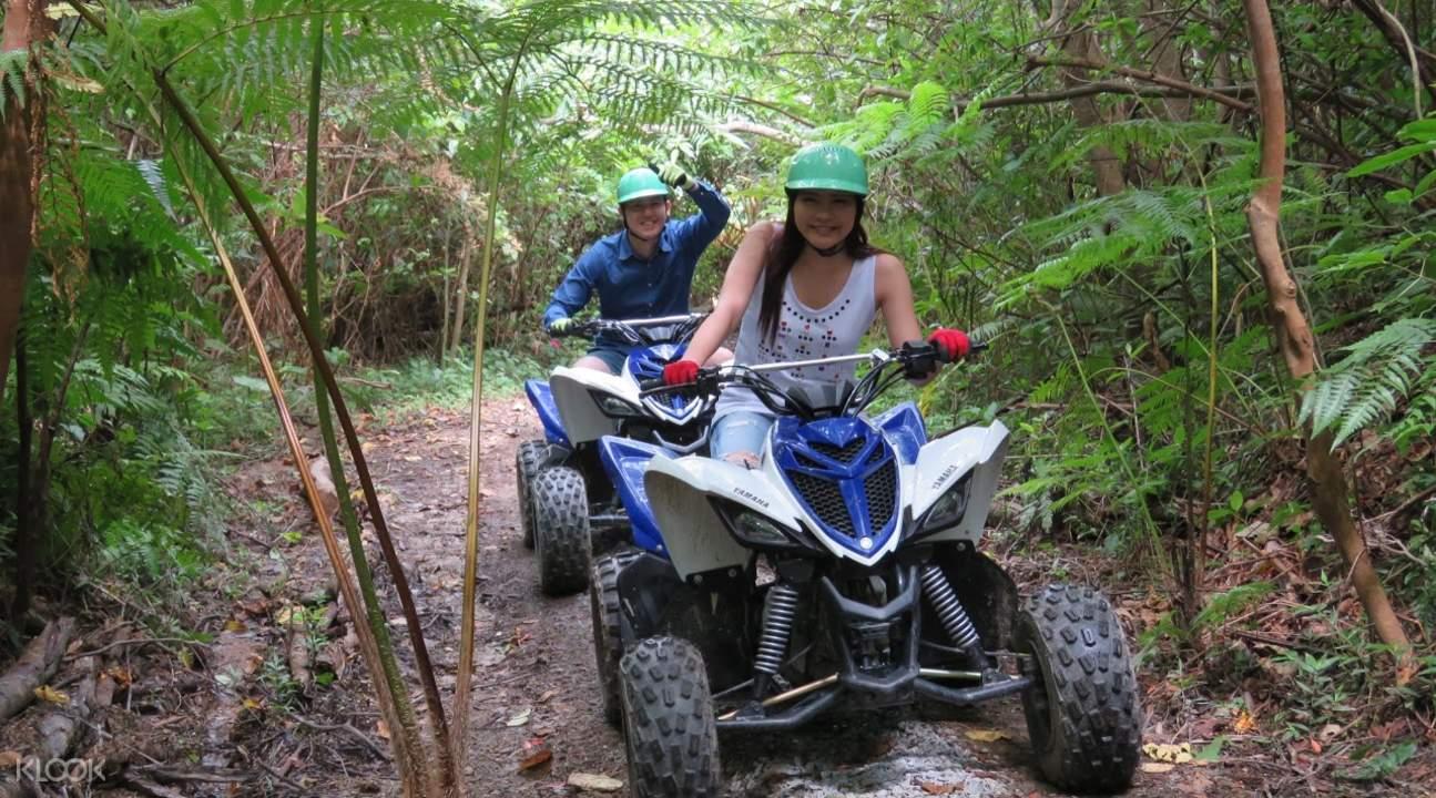 冲绳山地摩托车越野体验