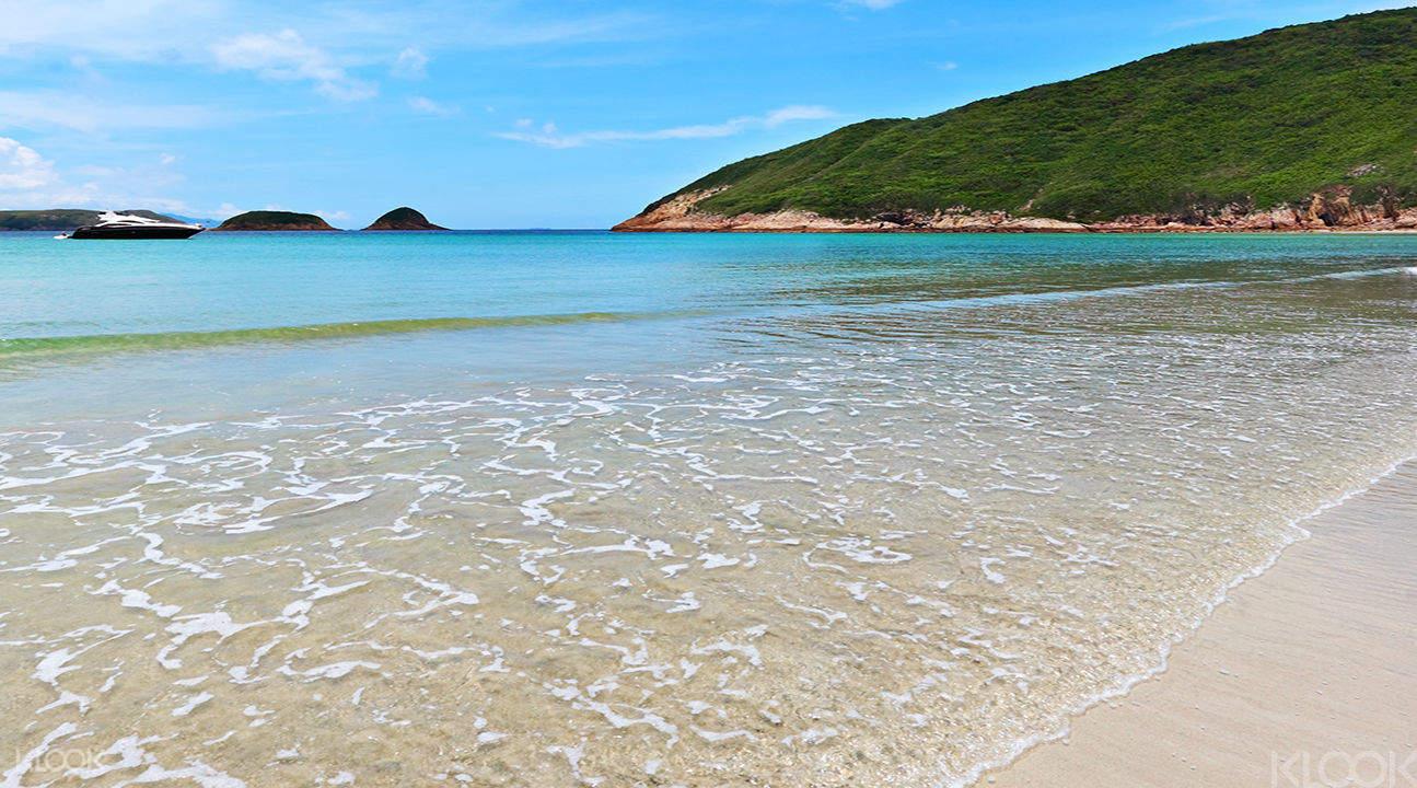 sai kung beach shoreline