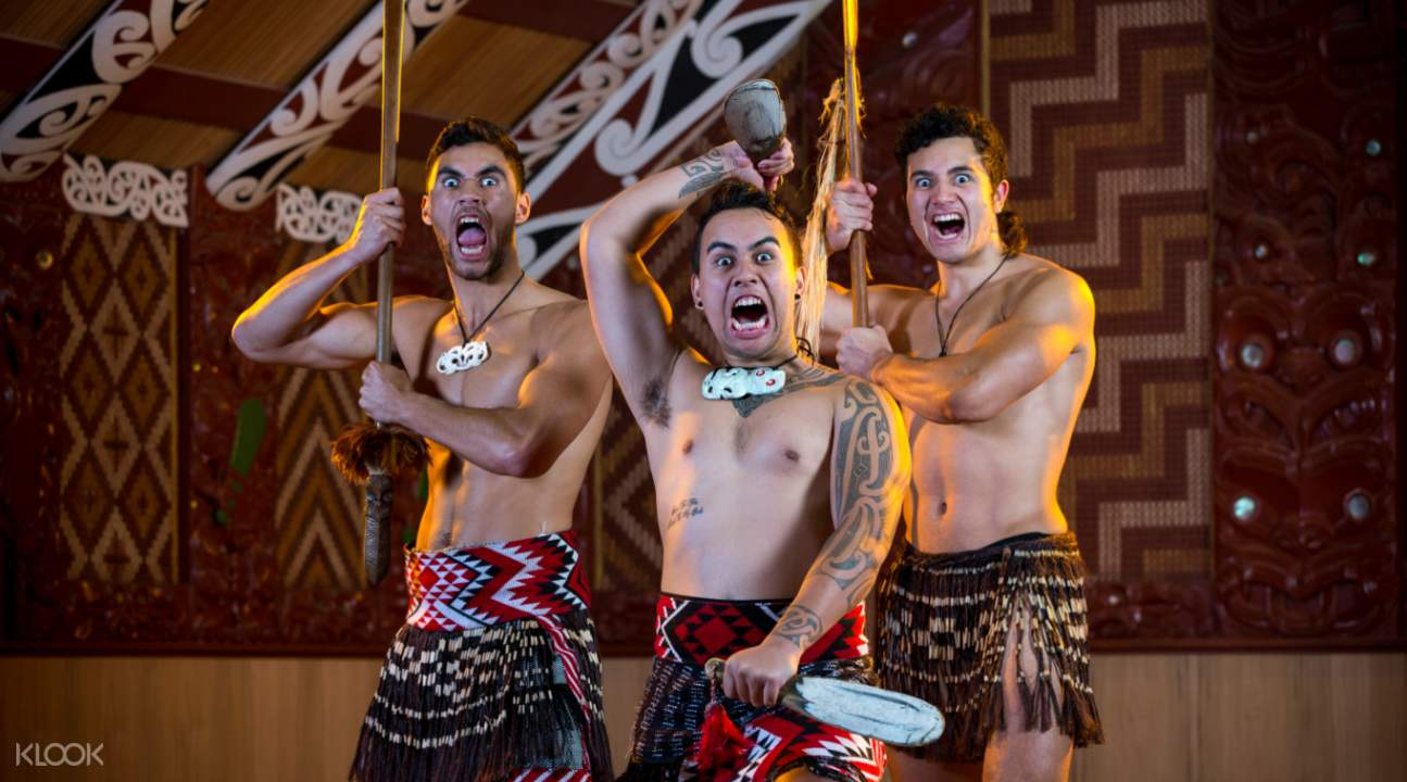 Haka at the Te Puia Night Cultural Experience