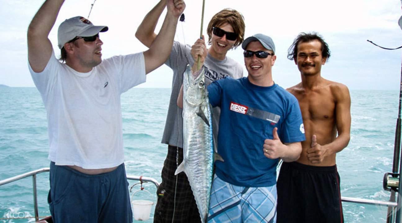 苏梅大海钓鱼历险