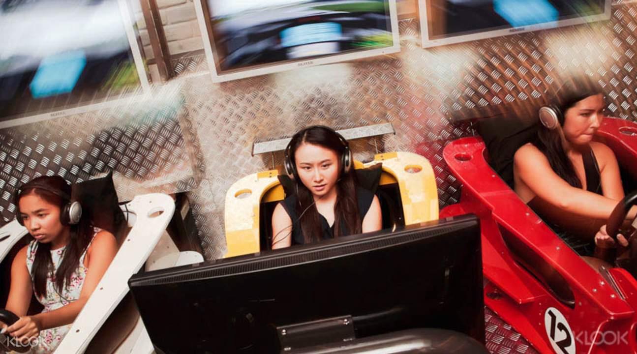 car racing simulation