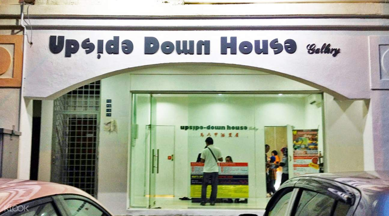 upside down house gallery admission ticket melaka