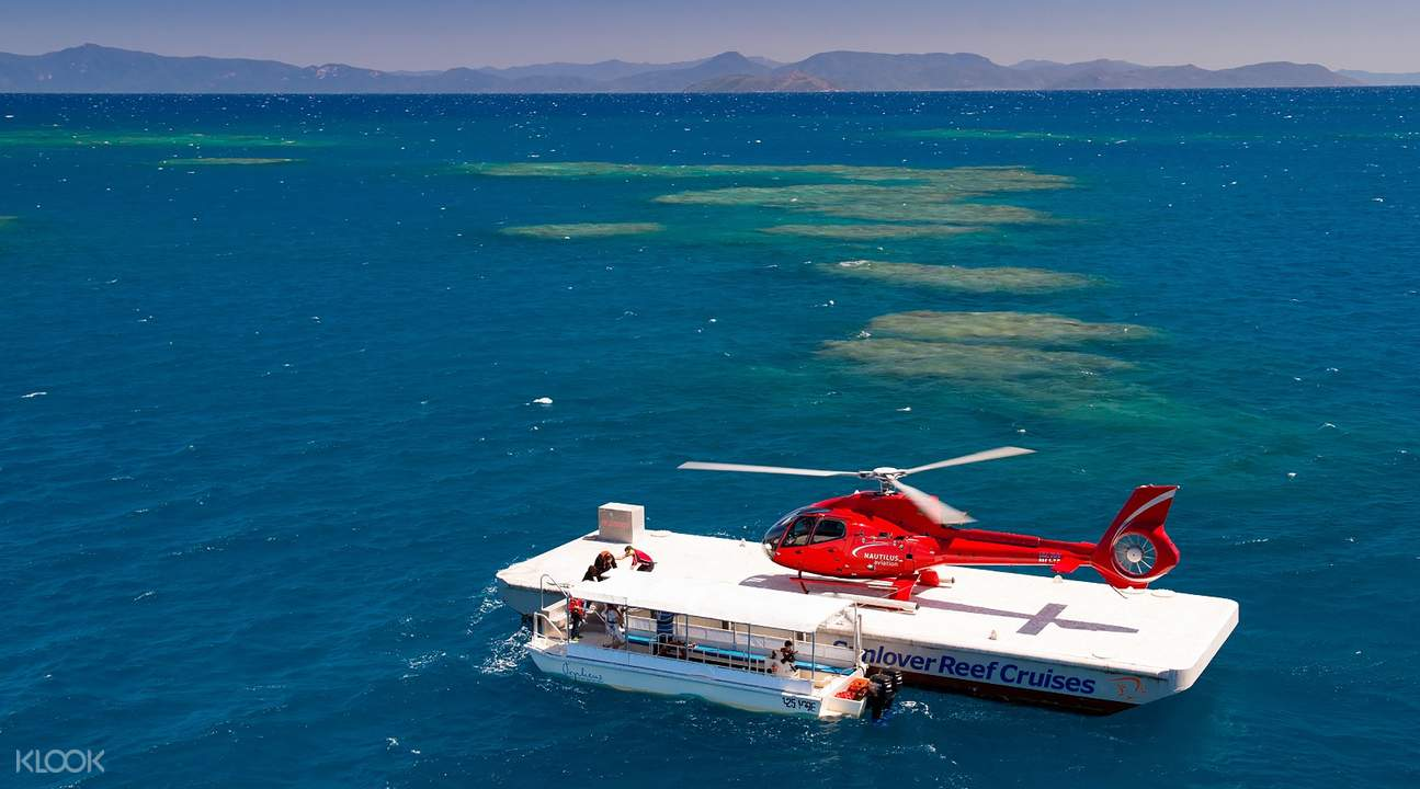 Sunlover great barrier reef cruise from cairns