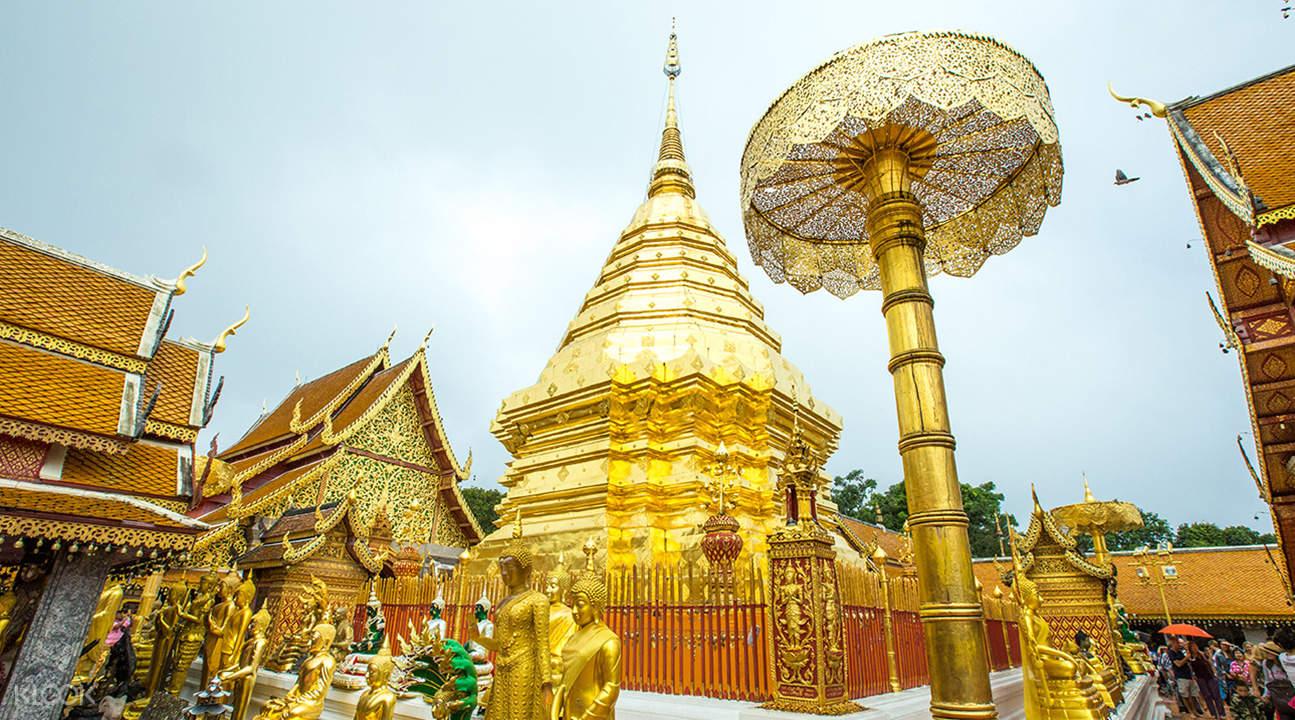 golden buddha in chiang mai