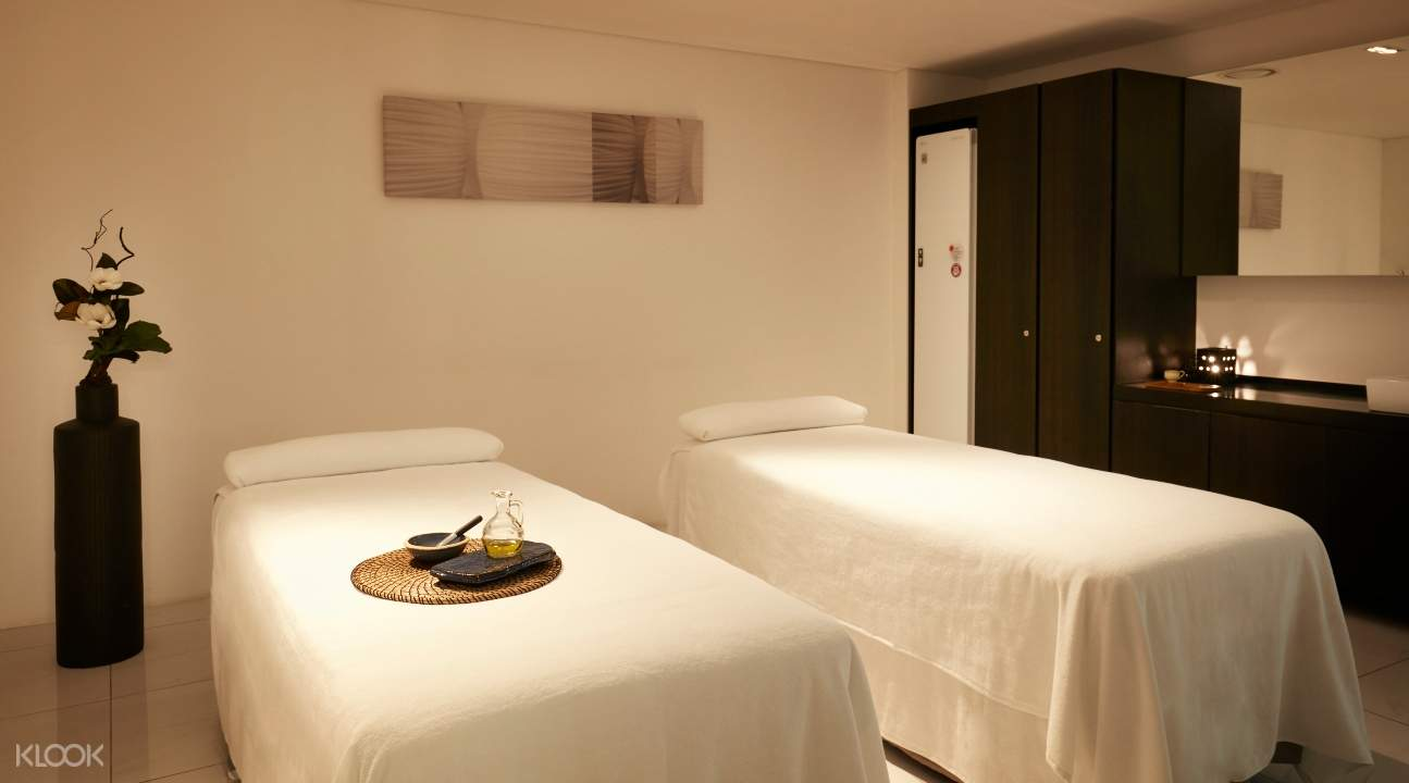 massage treatment room in A.H.C. Gangnam Spa