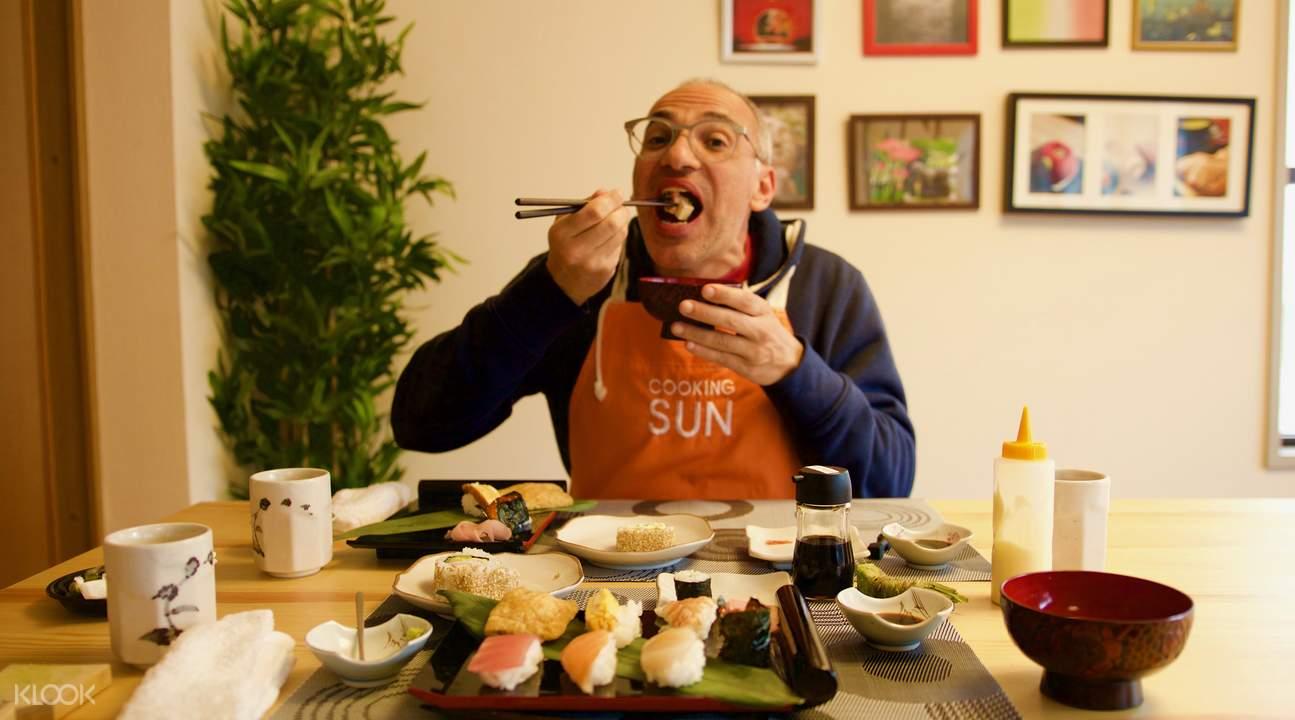 kaiseki cooking class shinjuku tokyo japan