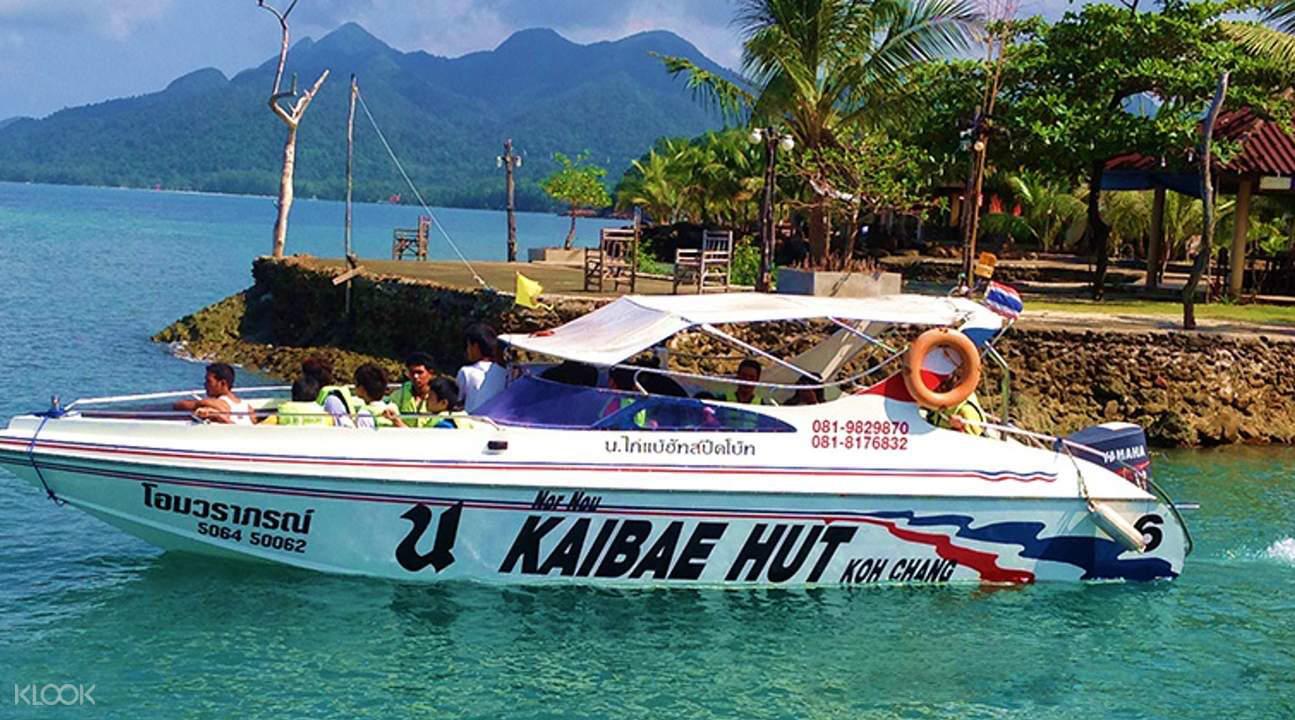 koh wai speedboat