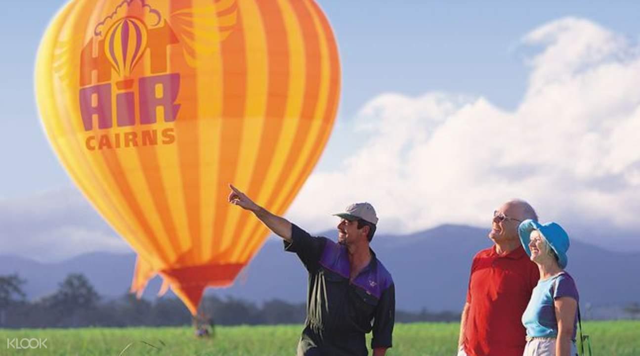 凯恩斯热气球体验大堡礁游船一日游,大冒险号大堡礁,澳大利亚热气球