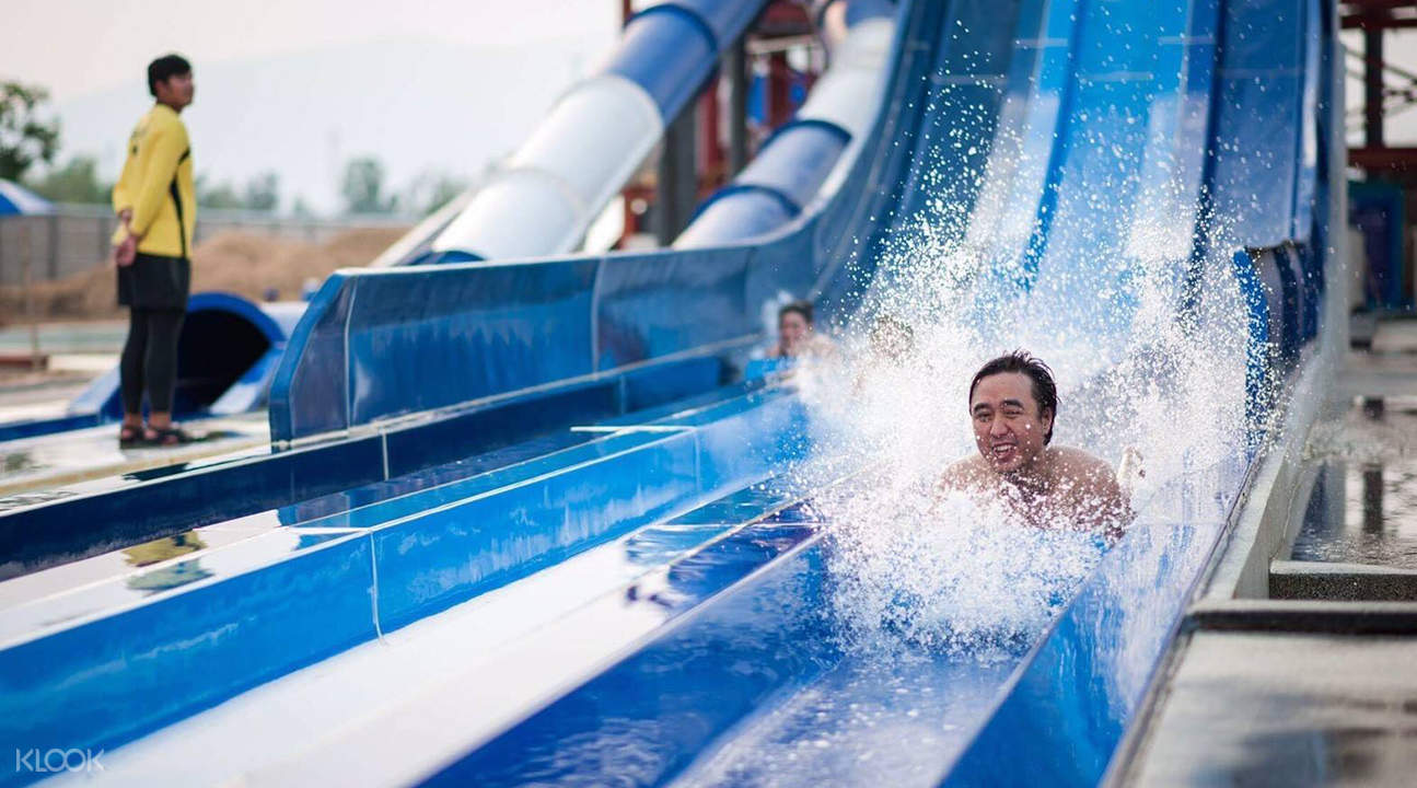 tube trek water park chiang mai