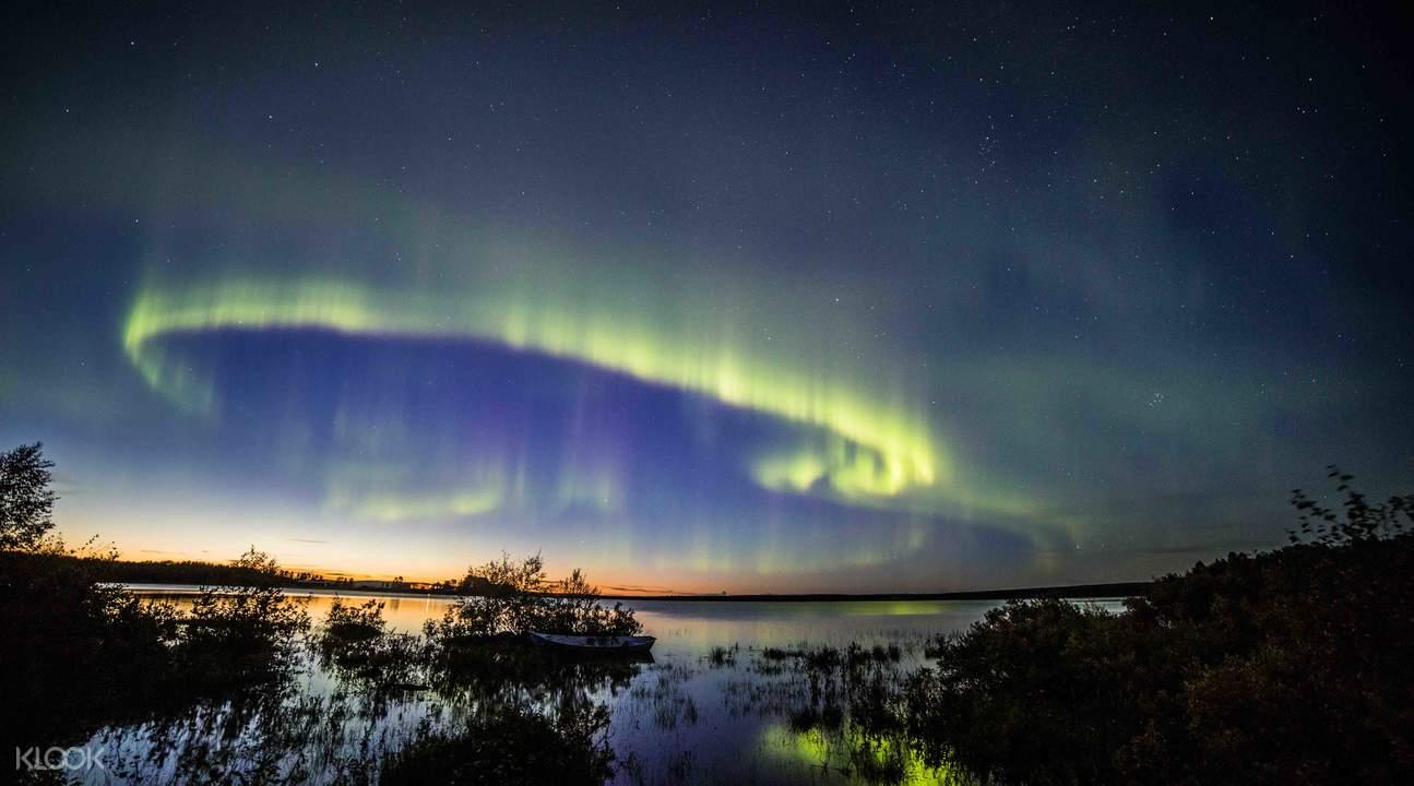 罗瓦涅米北极光