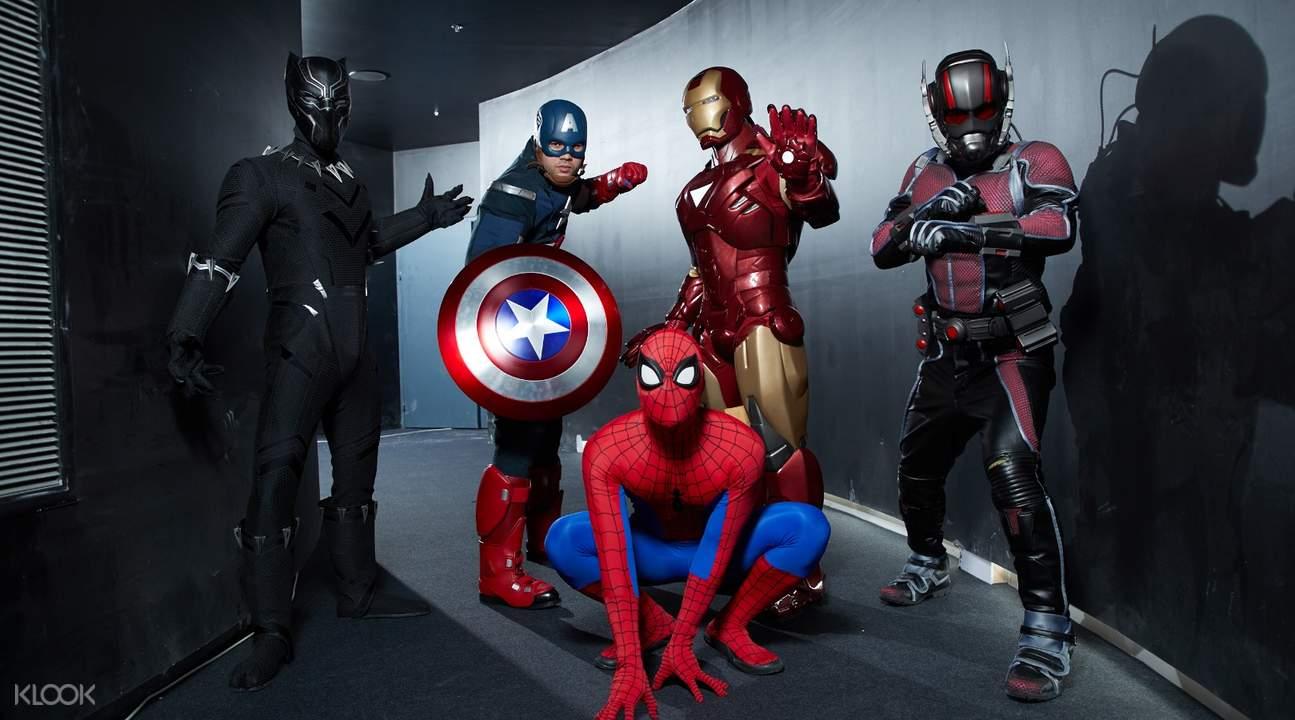 泰国 Marvel 漫威体验馆门票
